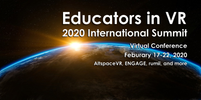 2020 Educators in VR International Summit