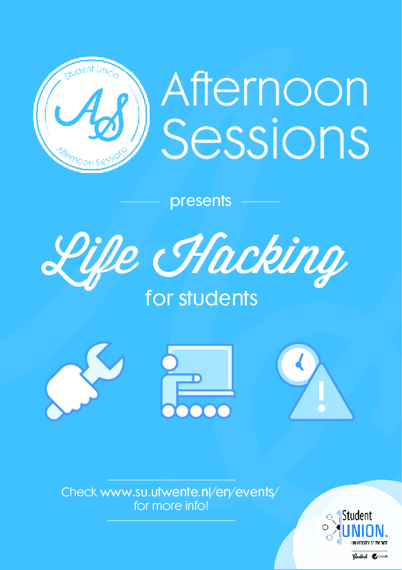 Life Hacking: Student Union Afternoon Sessions