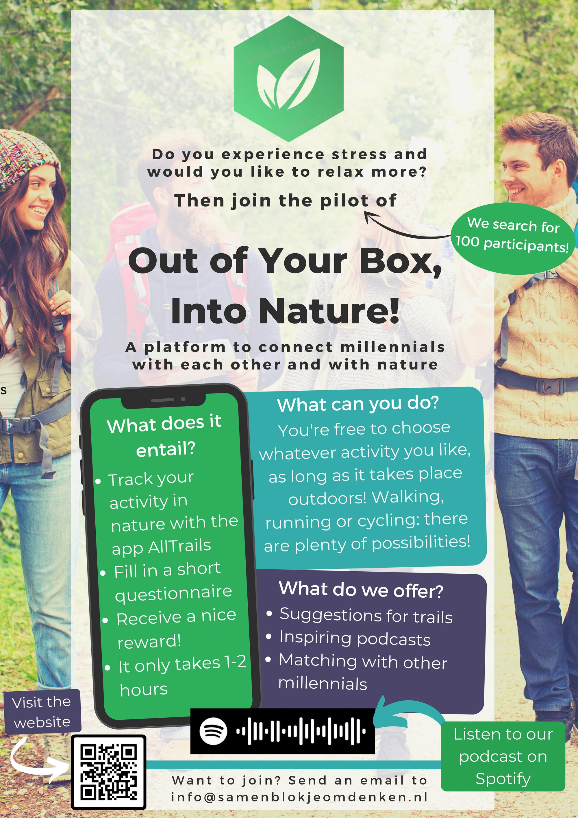 Out of Your Box, Into Nature!
