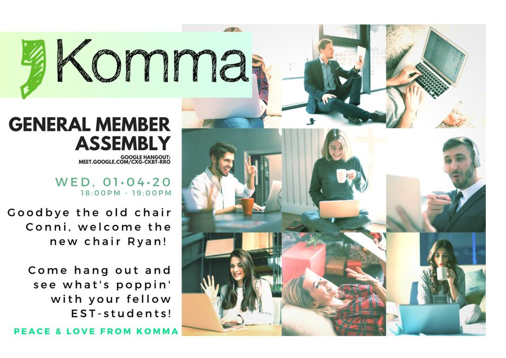 Komma's GMA