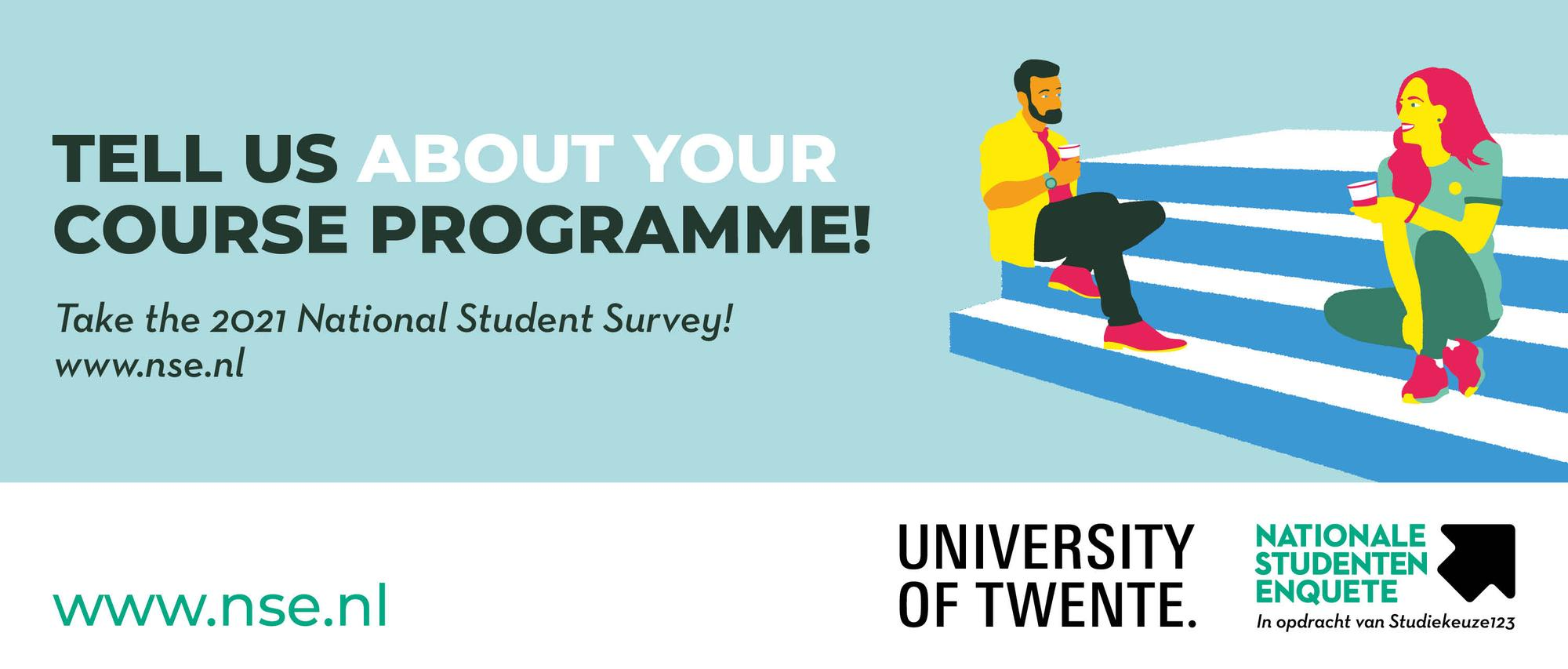 Take the National Student Survey now to help improve the program!
